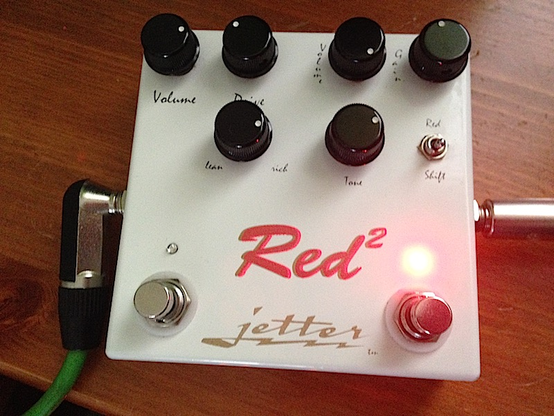 Jetter Red Square Dual Overdrive