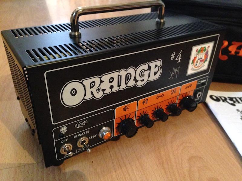 Orange Jim Root Terror 15w Valve Amp