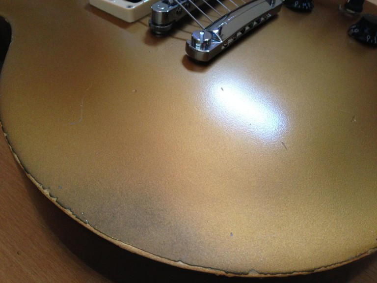 2012 Gibson Les Paul Studio 50s Goldtop