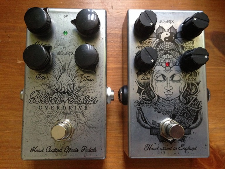 DopeFX Everything Zen & Black Lotus Overdrive Pedals