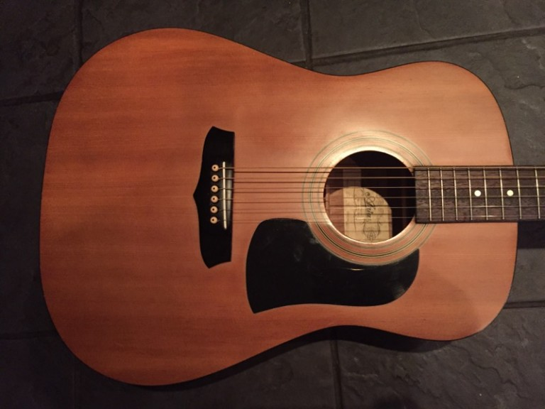 1980s Aria Japan AW100 Acoustic