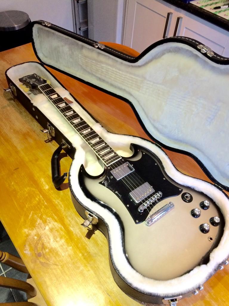 2011 Gibson SG Silverburst (ltd ed.)